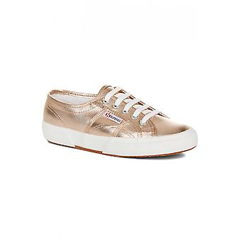Superga 2750 Rose Gold Metallic Trainers