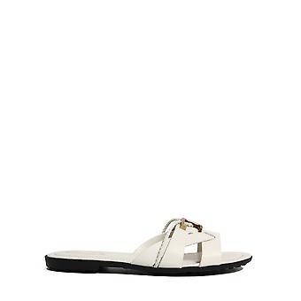 Tod's Xxw0ov0cv000nb6b015 Naiset's Valkoinen nahka sandaalit