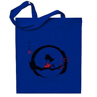 ungdoms Goku Under Månen Dragon Ball Z Totebag
