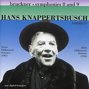 A. Bruckner - Bruckner: Symphonies Nos. 8 & 9 [CD] USA import