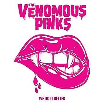 Venomous Pinks - We Do It Better [CD] USA import
