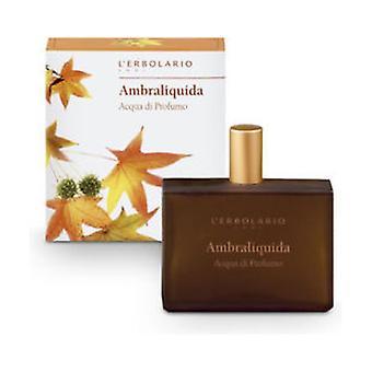 Ambraliquid Perfume Water 50 ml