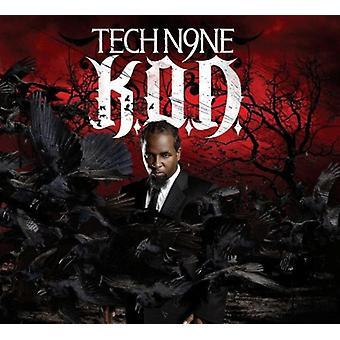 Tech N9NE - K.O.D. [CD] USA import