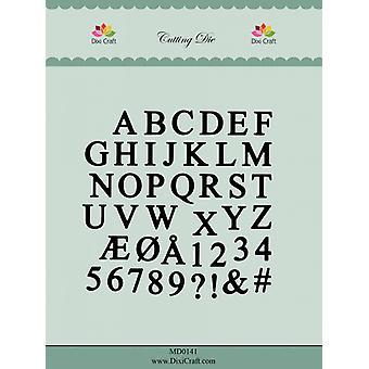 Dixi Craft Alphabet Cutting Die