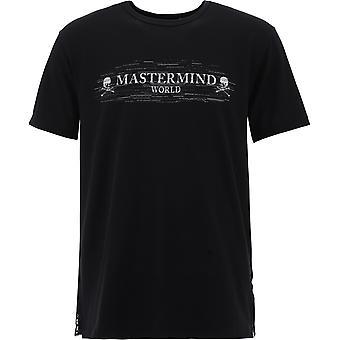 Mastermind World Mw20s05ts069018 Men's Black Cotton T-shirt