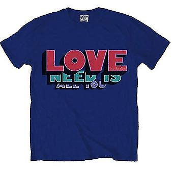 The Beatles All You Need Is Love Official Tee T-Shirt Męski Unisex