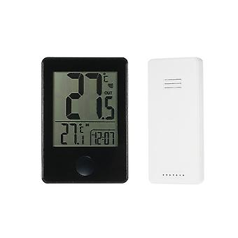 Indoor and Outdoor Digital Thermometer TS-C01-B Black