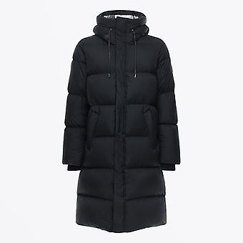 Mackage  - Elio - Maxi Down Coat With Pillow Collar - Black