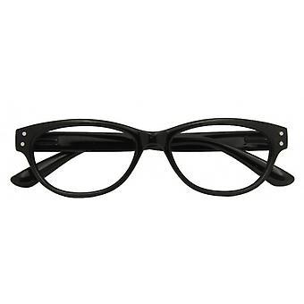 Reading Glasses Women's Classic Black Strength +2.50