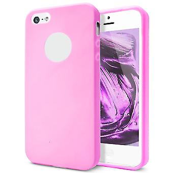 Shell pour Apple iPhone 5 5s SE Pink TPU Protection Case