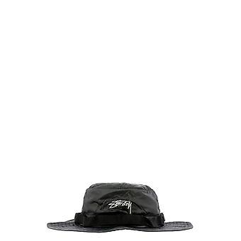 Stussy 132966black Men's Black Nylon Hat