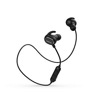 QCY QY19 Bluetooth Headphones with Mic Wireless Earphones Sports IPX4 Headphone Black