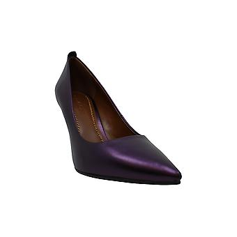 Coach Women's Shoes Waverly Leather Pointed Toe Classic Pumps