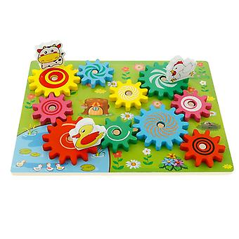 Building Block Gears Puzzle Bricks For Educational Game