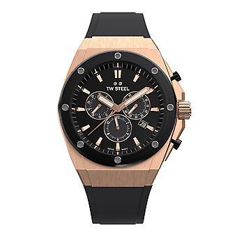 TW Steel TWCE4048 Ceo Tech Black Dial Chronograph ساعة اليد