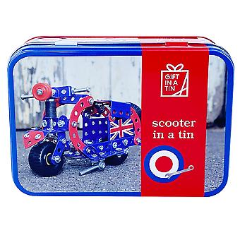 Scooter In A Tin - Construction Kit - Luxury Gift Item