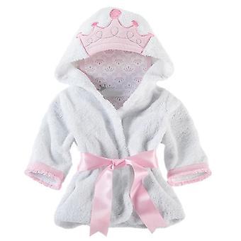 Hooded Bathrobe Towel, Long-sleeved Dressing Gown