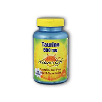 Nature's Life Taurine, 500 mg, 100 caps