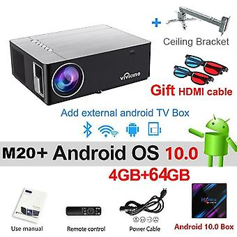 1080p proyector opción Android 10.0 Full Hd Led Home Theater Video Projector