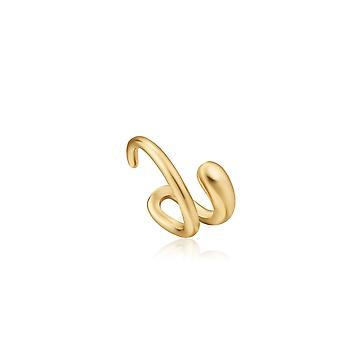 Ania Haie Luxe Minimalism Shiny Gold Luxe Ear Cuff E024-06G