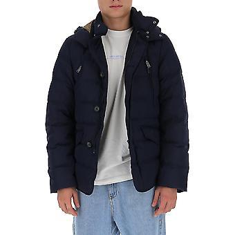 Aggiungere 2am8124012 Men's Blue Nylon Down Jacket