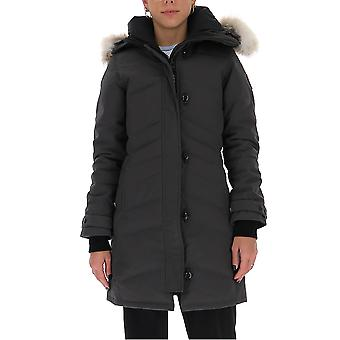 Canada Goose 2090l66 Women's Grey Nylon Outerwear Jacket