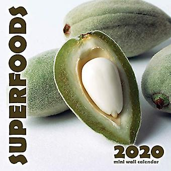 Superfoods 2020 Mini Wall Calendrier