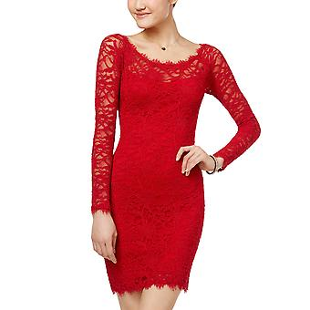 Jump | Juniors' Lace Sheath Dress