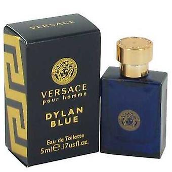 Versace Pour Homme Dylan Blue by Versace Mini EDT .17 oz (miehet) V728-540279