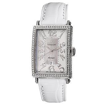 Gevril Women's 6209NV Glamour Automatic White Diamond Watch [Regarder]