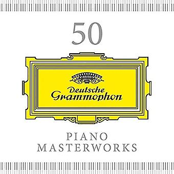 50 Piano Masterworks - 50 Piano Masterworks [CD] USA import