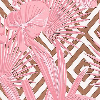 ASC Pink Leaf Art Deco