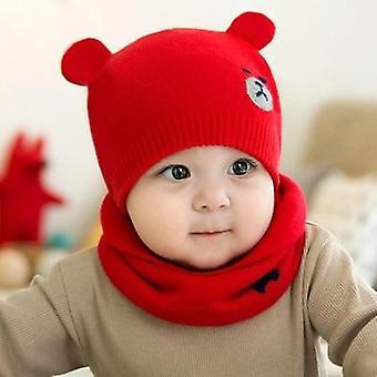 طفل الملحقات طفل قبعة الشتاء متماسكة بيني كاب مجموعة