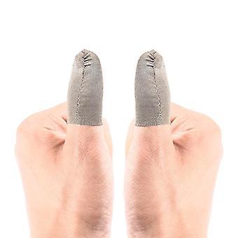 2 Pcs αναπνεύσιμα δάχτυλα κάλυψη ιδρώτα απόδειξη gaming δάχτυλα γάντια ευαίσθητα