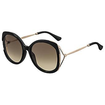 Jimmy Choo Lila/S 2M2/HA Black-Gold/Brown Gradient Sonnenbrille