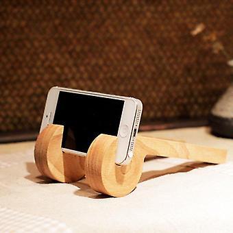 Staffa porta telefono supporto supporto in legno