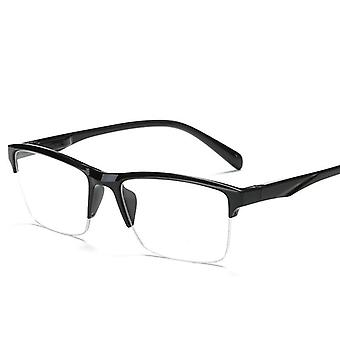 Men And Women High Quality Half Frame Diopters Business Office Men Reading