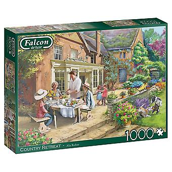 Falcon de luxe Jigsaw Puzzle 1000 pieces Country House Retreat