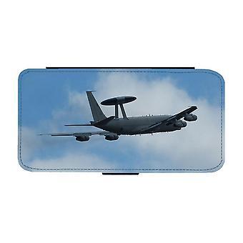 Flygvapnet AWACS Flygplan iPhone 12 Mini Plånboksfodral