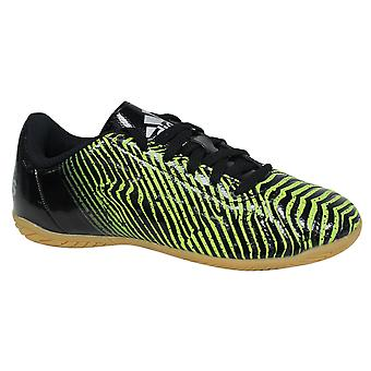 Adidas Taquiero Indoor Junior Lace Up Green Black Football Boots AF5050 B69C