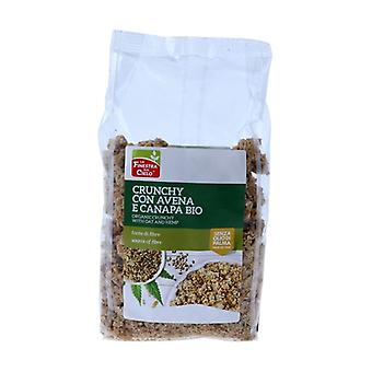 CRUNCHY WITH OATS AND CANAPA 375 g