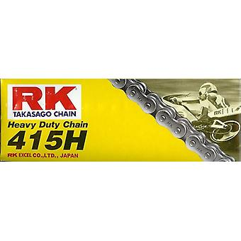 RK 415H X 130 Heavy Duty Chain Road Off-Road Racing Black