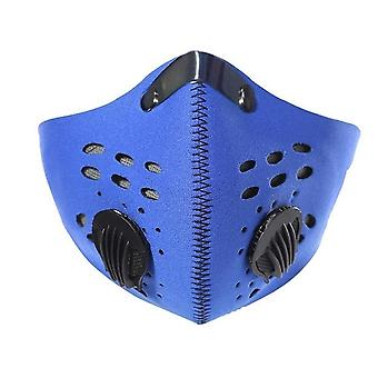 Aktiivihiili Pm 2.5 Anti-pollution Facemask Suodattimella