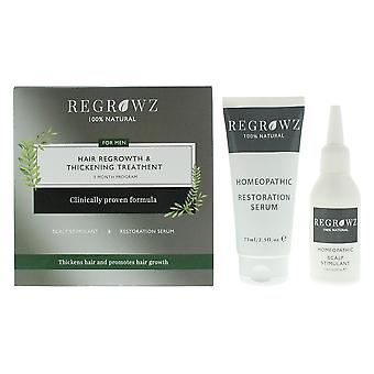 Regrowz Hair Loss Treatment For Men - Three Months Supply