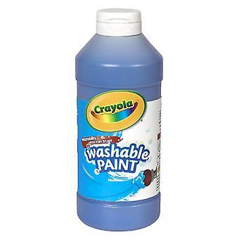 Peinture lavable Crayola, Bleu, 16 Oz.