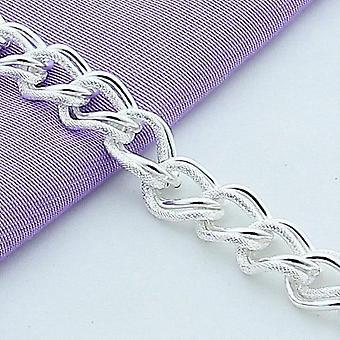 أزياء جميلة 925 الاسترليني الفضة سحر سوار سلسلة المجوهرات رائع
