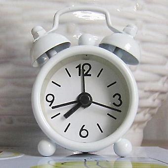 Klassieke uitstekende wekker elektronische bureautafel horloge mechanische wekker reis trillende luide klokken