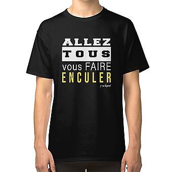 אלז טוס Vous פייר Enculer חולצת טריקו ז'אן מארי ביגארד ביגארד