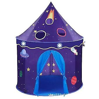 Children's Foldable Play Tent House, Space Castle Tent, Children's Indoor Play House, Creative Games And Gift Bags