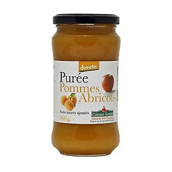 Apricot Apple puree without sugar 360 g